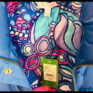 NWT Lilly Pulitzer Down Vest